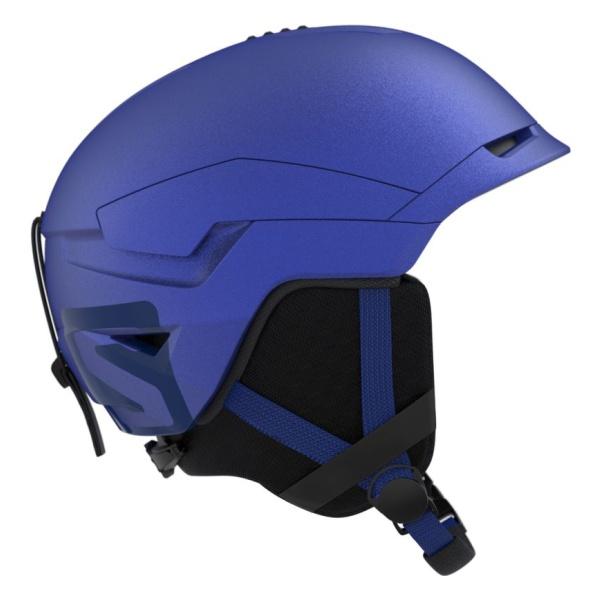 Горнолыжный шлем Salomon Salomon Quest Access синий L(59/62CM) шлем горнолыжный salomon helmet brigade audio grey forest gr размер l 58 59
