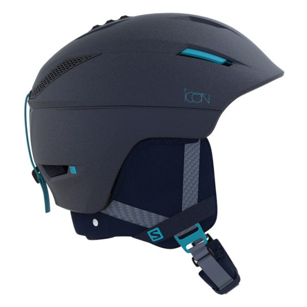 Горнолыжный шлем Salomon Salomon Icon 2 C.Air темно-синий S(53/56CM)
