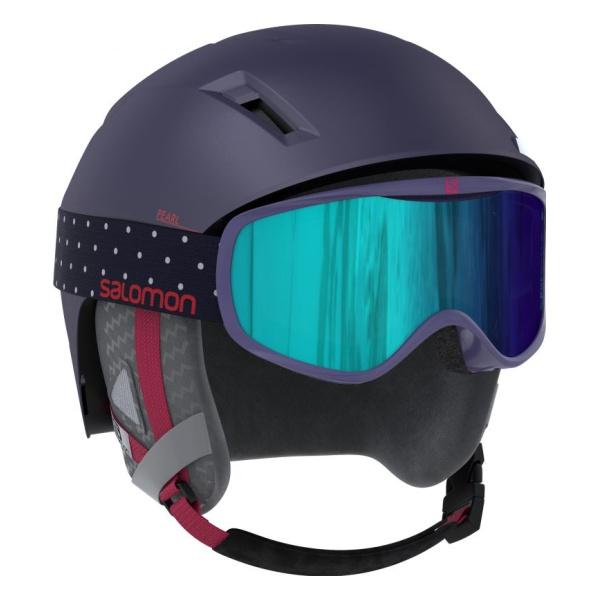 Купить Горнолыжный шлем Salomon Pearl 2+