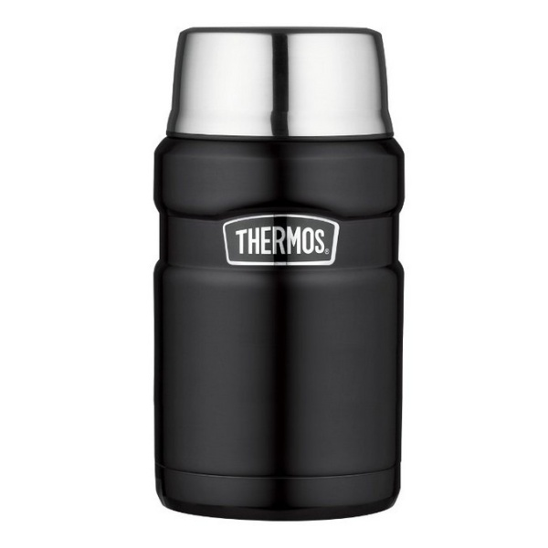 Термос Thermos Thermos SK3020-BK King Food Jar 0.71L черный 0.71л цена