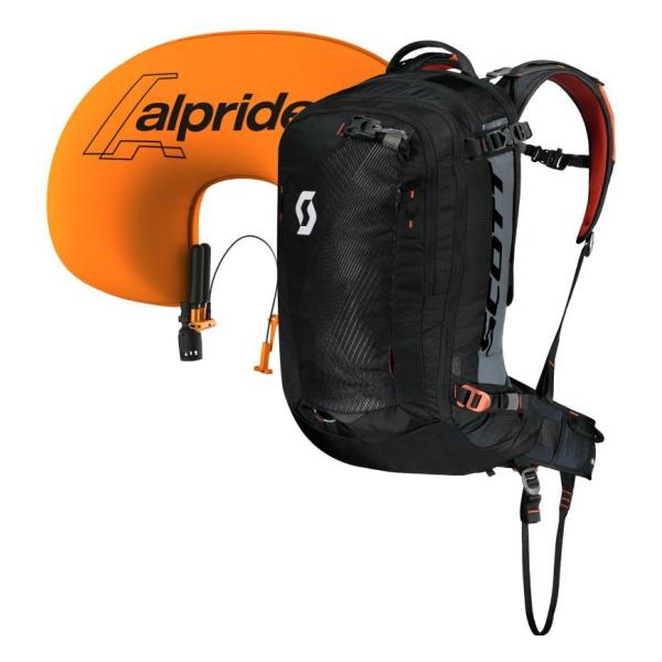 Рюкзак лавинный Scott Guide AP 30 Kit (картридж в комплекте) черный 30Л