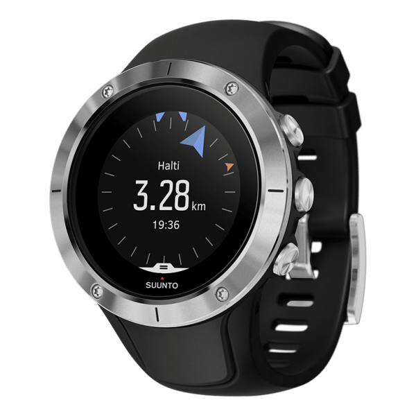 Часы Suunto Suunto Spartan Trainer Wrist HR серый часы спортивные suunto spartan sport wrist hr all black цвет черный