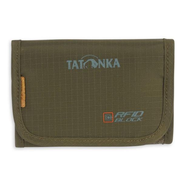 Кошелек Tatonka Tatonka Folder Rfid зеленый недорого