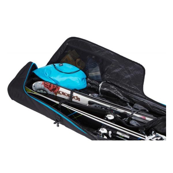 Чехол на колесиках для 2-х пар горных лыж Thule RoundTrip Ski Roller 175 см  - купить со скидкой