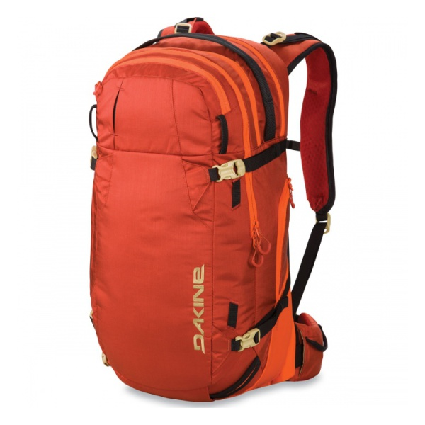 Рюкзак DAKINE Dakine Poacher 36L темно-оранжевый 36л сумка для аксессуаров dakine accessory цвет темно синий мультицвет 0 3 л