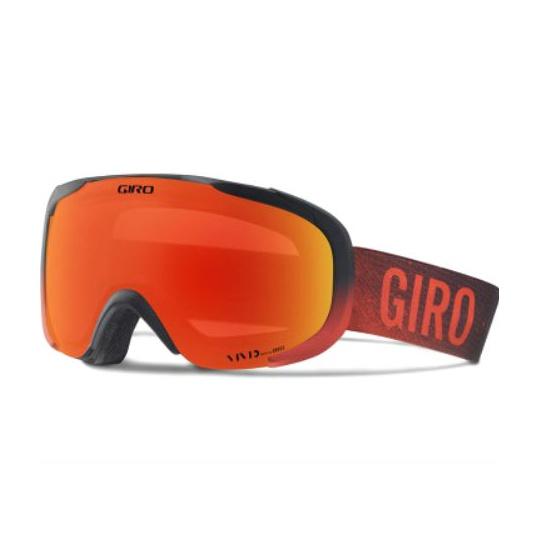 Горнолыжная маска Giro Giro Compass темно-красный MEDIUM горнолыжная маска giro giro grade темно голубой medium