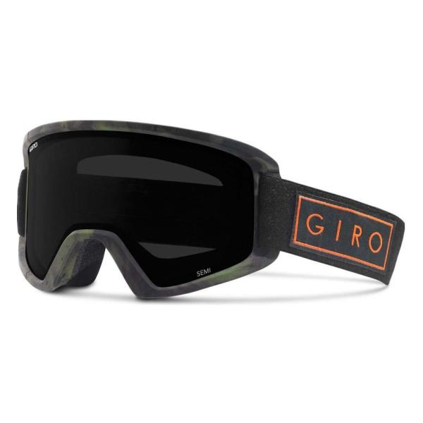 Горнолыжная маска Giro Giro Semi темно-серый MEDIUM горнолыжная маска giro giro gaze женская темно серый medium
