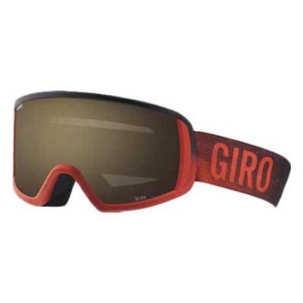 Горнолыжная маска Giro Giro Scan темно-красный MEDIUM горнолыжная маска giro giro chico темно голубой small