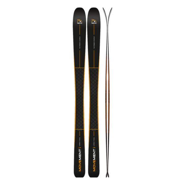 Горные лыжи Movement Skis Movement Revo 91 (17/18) лыжи беговые tisa top universal с креплением цвет желтый белый черный рост 182 см