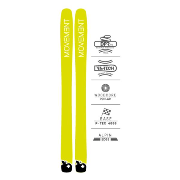 Купить Горные лыжи Movement Go 109