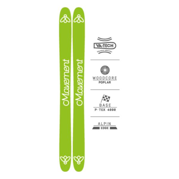 Купить Горные лыжи Movement Fly 115