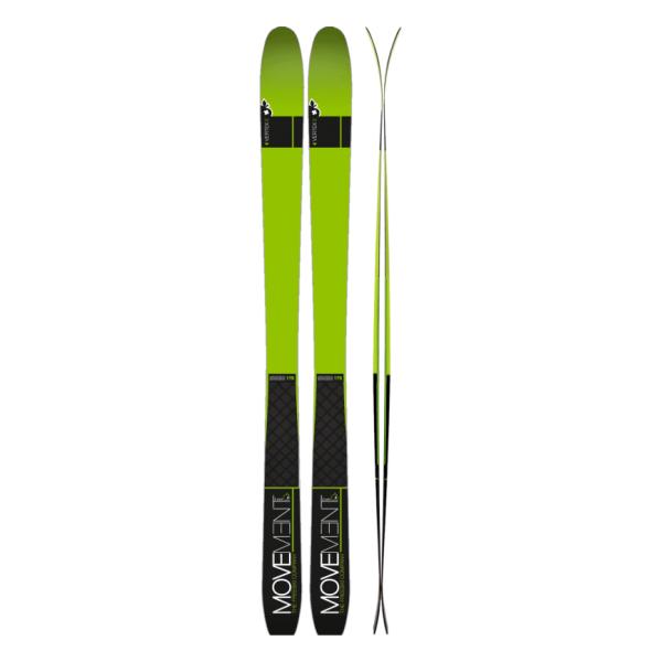 Лыжи ски-тур Movement Skis Movement Vertex (17/18) стенка альфа 18