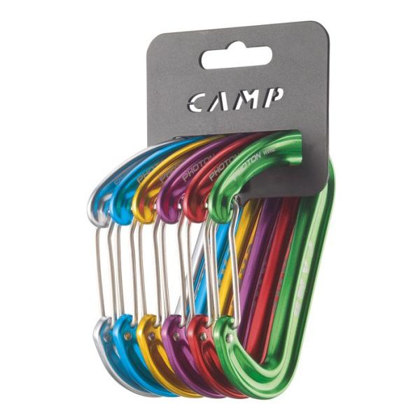 Комплект карабинов CAMP Camp Photon Wire Rack Pack 6 шт цена
