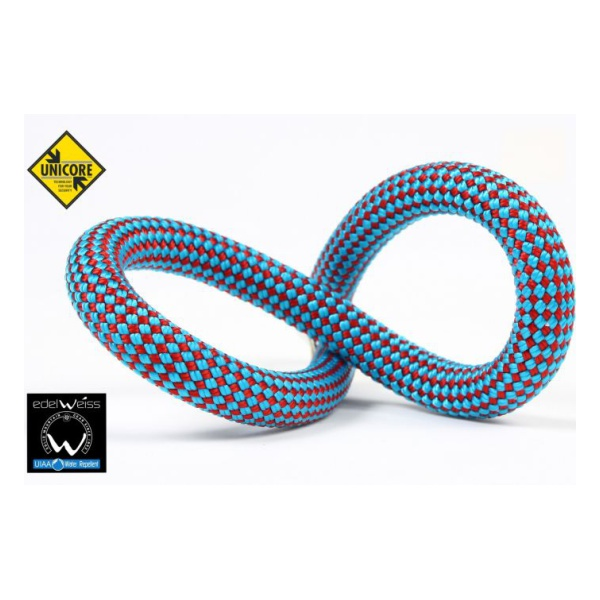 Веревка Edelweiss Edelweiss Performance 9.2 мм (200 м) темно-голубой 1м