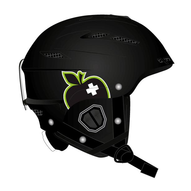 Горнолыжный шлем Movement Skis Movement Big A Helmet черный 54/56