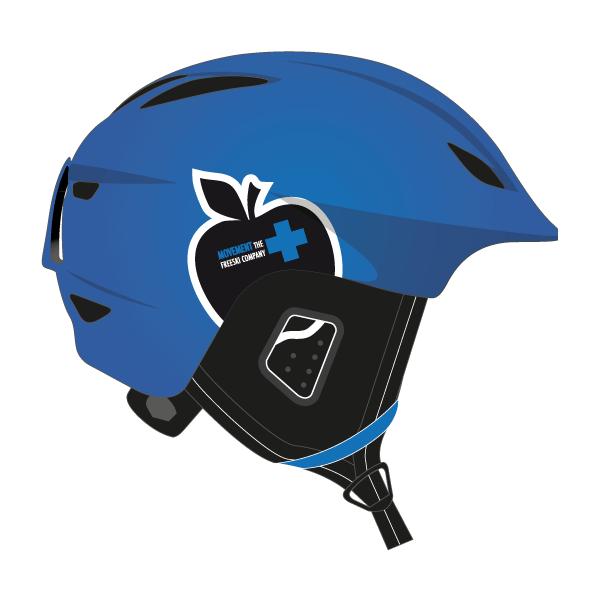 Горнолыжный шлем Movement Skis Movement Icon Helmet синий 60/62 мото шлем icon airmada hoodoo helmet