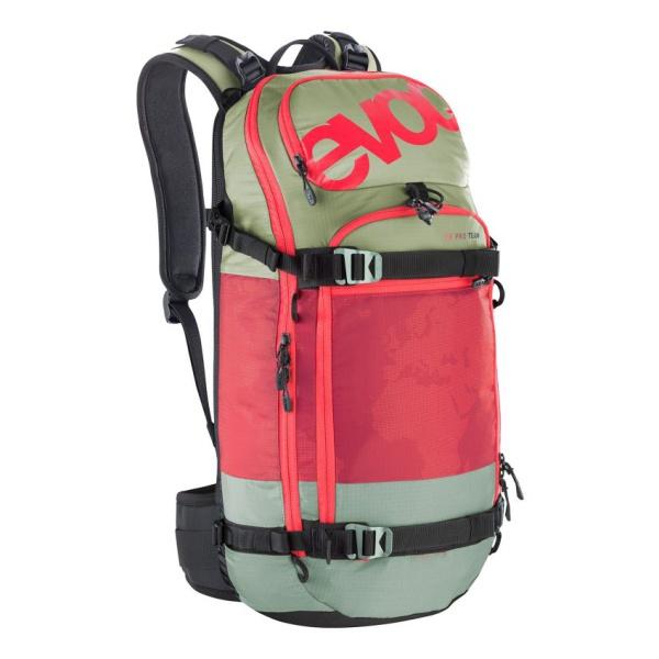 Рюкзак EVOC Evoc FR Pro Team красный M/L рюкзак evoc evoc fr pro темно голубой m l