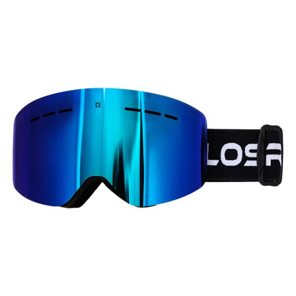 Горнолыжная маска Losraketos Losraketos Atom синий линза для маски roxy rockferr bas ln pink