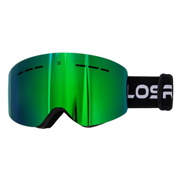 Горнолыжная маска Losraketos Losraketos Atom зеленый линза для маски roxy rockferr bas ln pink