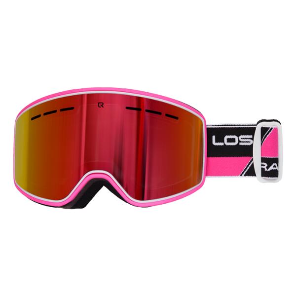 Горнолыжная маска Losraketos Losraketos Spectra красный линза для маски roxy rockferr bas ln pink