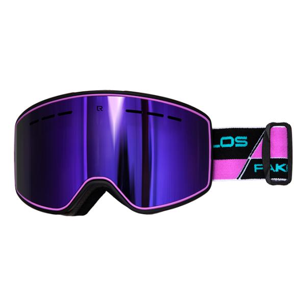 Горнолыжная маска Losraketos Losraketos Spectra фиолетовый линза для маски von zipper lens feenom nls fire chrome
