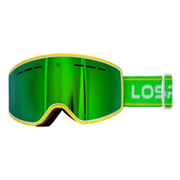 Горнолыжная маска Losraketos Losraketos Spectra зеленый линза для маски roxy isis bas pink