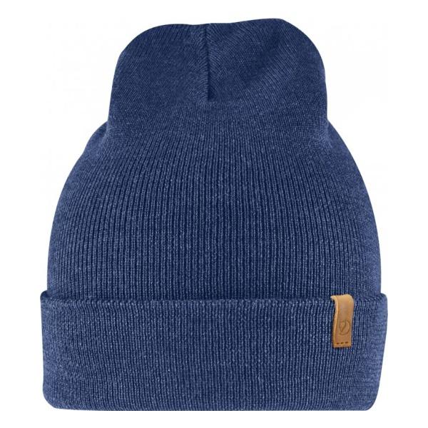 Шапка FjallRaven FjallRaven Classic Knit Hat синий ONE шапка с помпоном женская zoo york lace knit cable hat potent purple