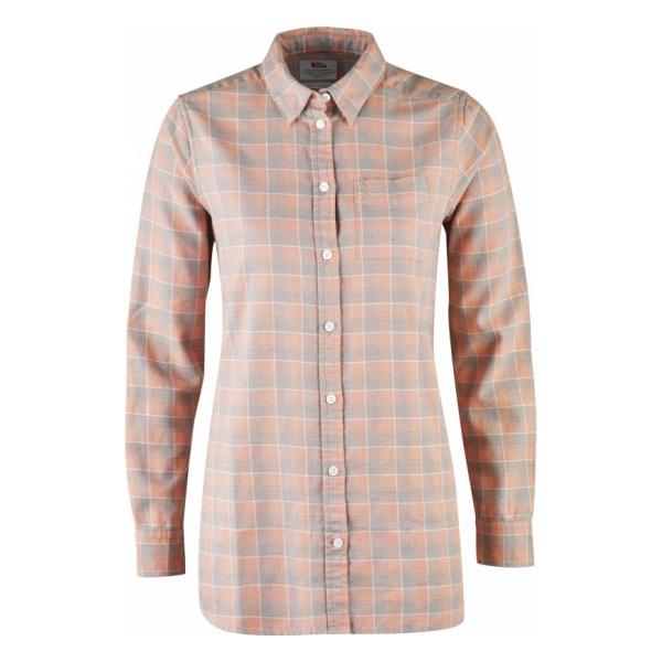 Рубашка FjallRaven FjallRaven High Coast Flannel Shirt LS женская куртка fjallraven fjallraven keb женская