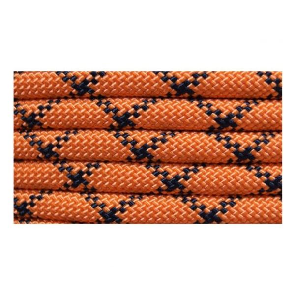 Веревка статическая Коломна (ОАО Канат) 10,5 мм 32 пр Коломна оранжевый 1м
