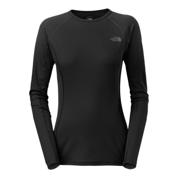 Футболка The North Face The North Face Light Long Sleeve Crew Neck женская simple style women s long sleeve round neck letter print sweatshirt