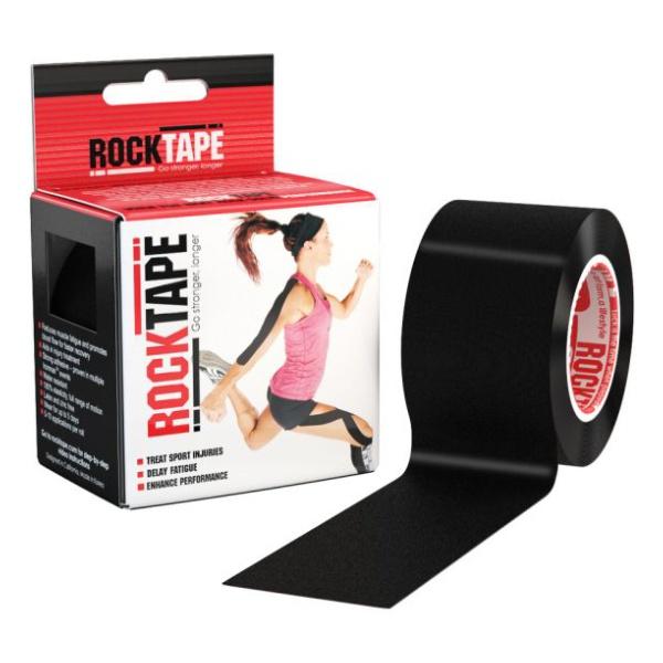 цены Кинезиотейп Rock Tape Rock Tape Classic черный 5СМХ5М