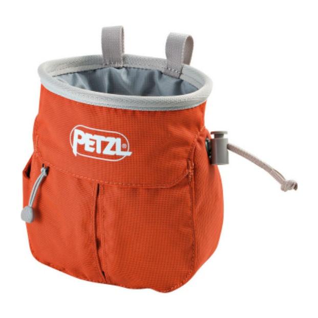 Мешок для магнезии Petzl Petzl Sakapoche оранжевый мешок для магнезии petzl petzl saka оранжевый