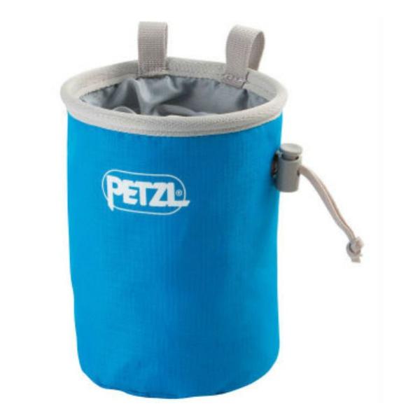 Мешок для магнезии Petzl Petzl Bandi синий мешок для магнезии petzl petzl saka оранжевый