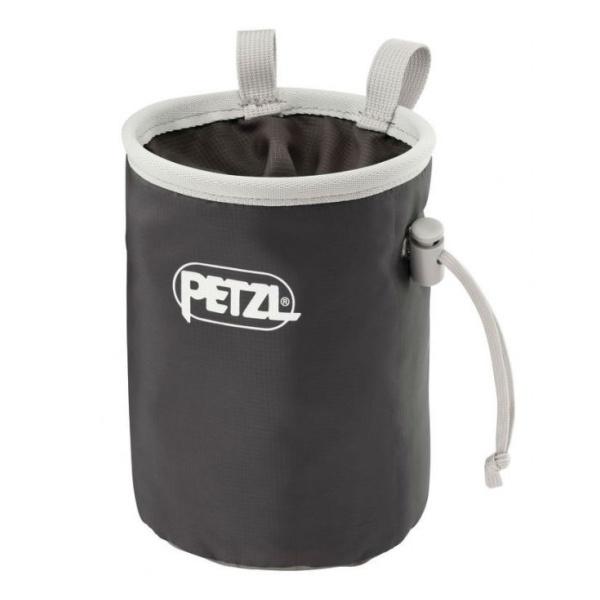 Мешок для магнезии Petzl Petzl Bandi серый мешок для магнезии petzl petzl saka оранжевый