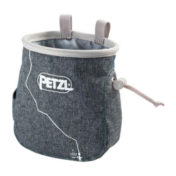 Мешок для магнезии Petzl Petzl Saka серый мешок для магнезии petzl petzl saka оранжевый