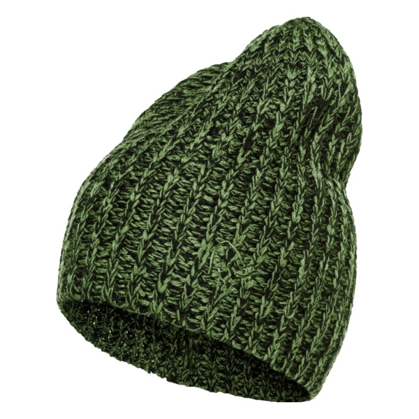 Шапка Norrona Norrona 29 Chunky Marl Knit Beanie зеленый ONE hot winter beanie knit crochet ski hat plicate baggy oversized slouch unisex cap