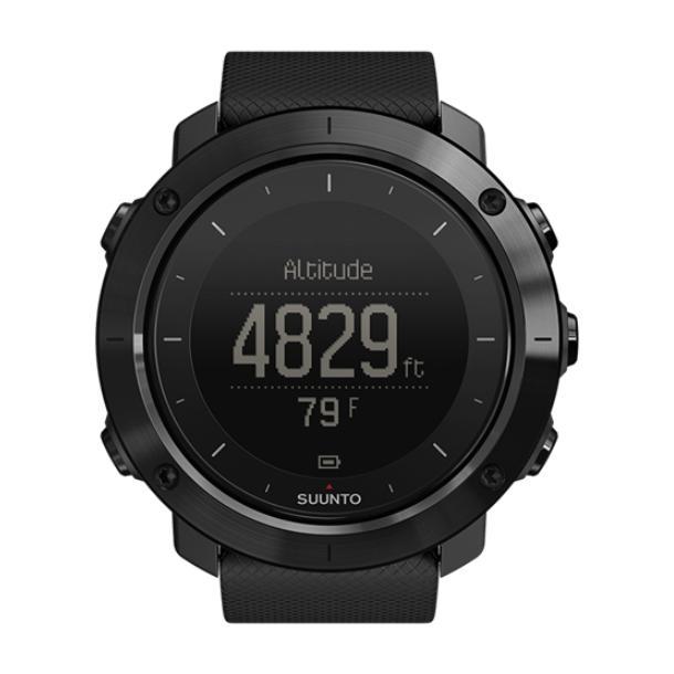 Часы Suunto Suunto Traverse Sapphire черный спортивные часы suunto traverse graphite ss022226000