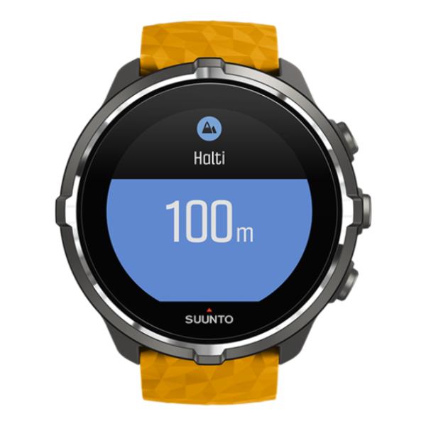 Часы Suunto Suunto Spartan Sport Wrist HR Baro оранжевый