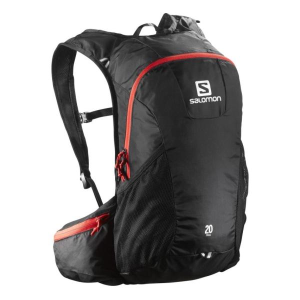 Рюкзак Salomon Salomon Bag Trail 20 черный 20л рюкзак salomon salomon trail 20 galet светло зеленый 20л
