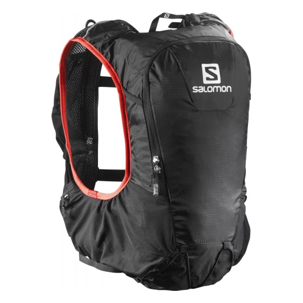 Рюкзак Salomon Salomon Bag Skin Pro 10 Set черный 10л рюкзаки salomon рюкзак bag trail 20 black