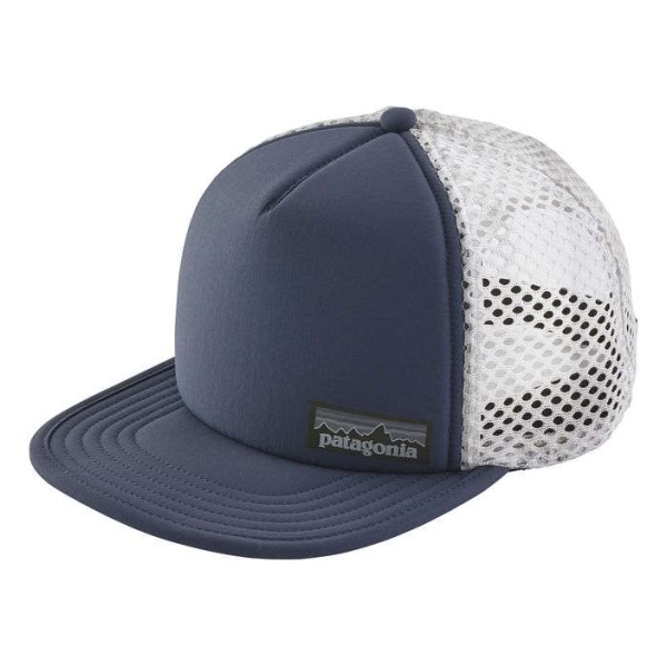 Кепка Patagonia Patagonia Duckbill Trucker Hat темно-синий ONE бейсболки rip curl кепка surf bandit trucker