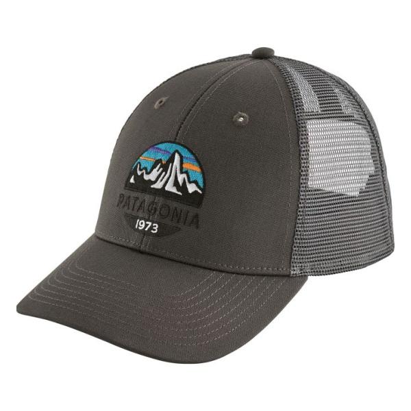 Кепка Patagonia Patagonia Fitz Roy Scope Lopro Trucker Hat темно-серый ONE цена