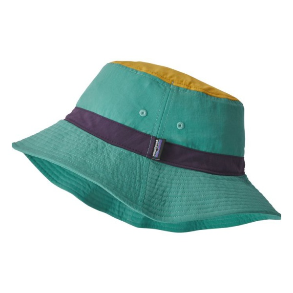 Панама Patagonia Patagonia Wavefarer Bucket Hat зеленый L/XL vintage wool felt bucket hat