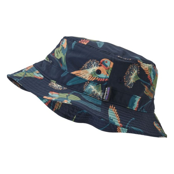 Панама Patagonia Wavefarer Bucket Hat темно-синий L/XL