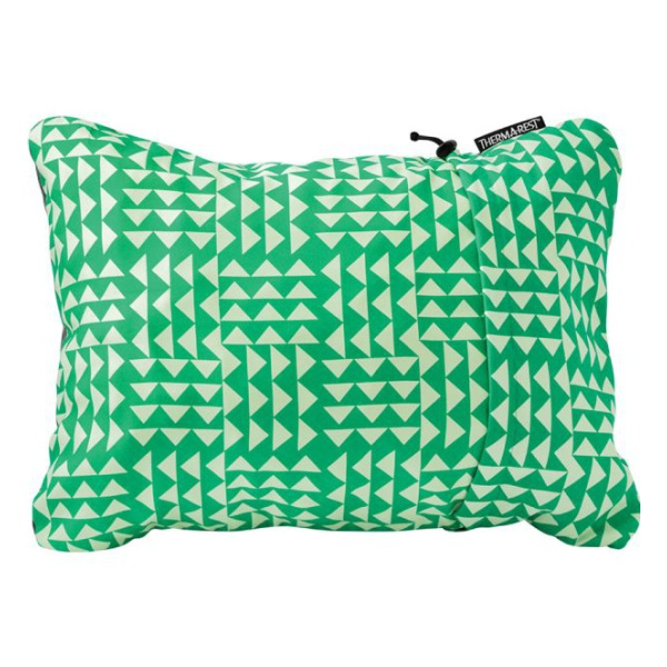 Подушка Therm-A-Rest Therm-a-Rest Compressible Pillow Large светло-зеленый L(41х58см) подушка therm a rest down pillow синий regular