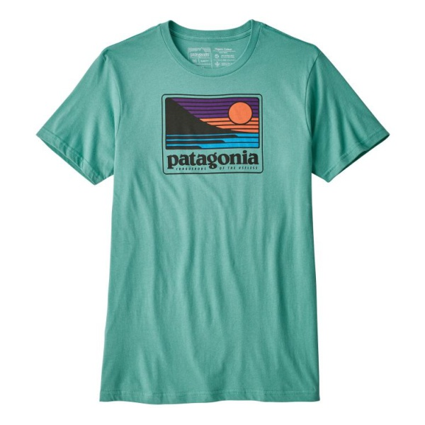 Футболка Patagonia Patagonia Up & Out Organic T-Shirt футболка patagonia patagonia flyng fish organic женская