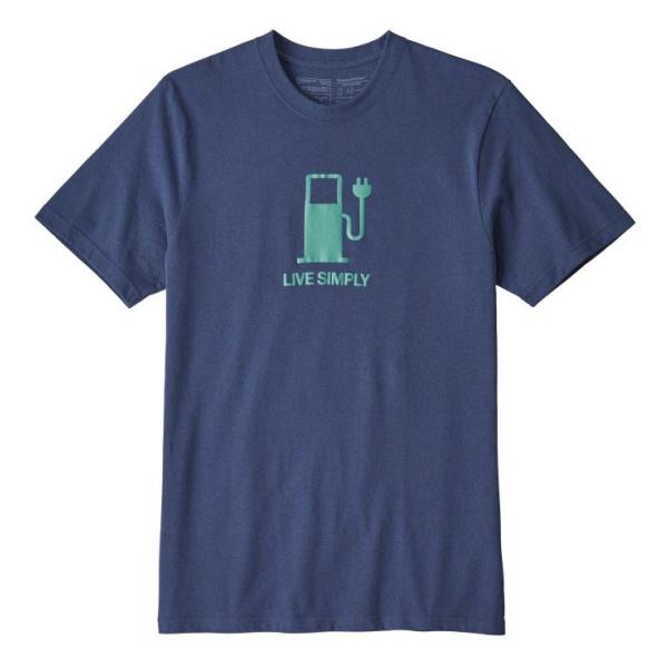 Футболка Patagonia Patagonia Live Simply Power Responsibili-Tee футболка patagonia