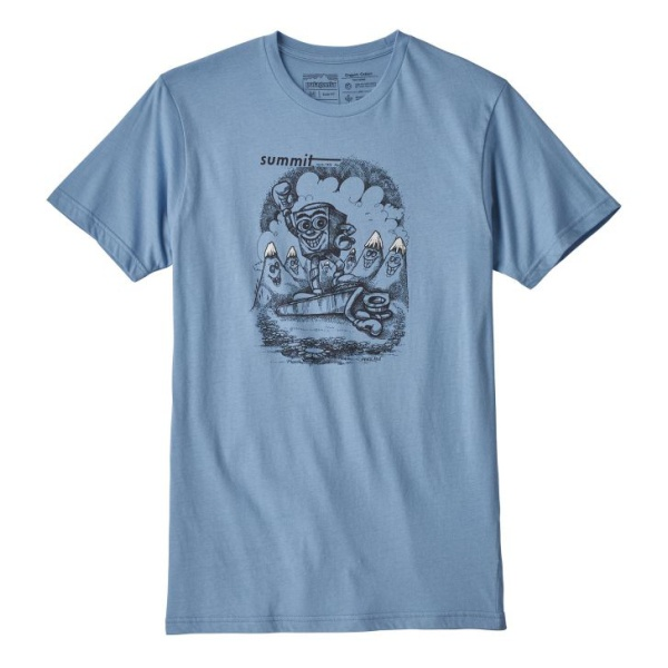 Футболка Patagonia Patagonia Nut VS Piton Organic T-Shirt футболка patagonia