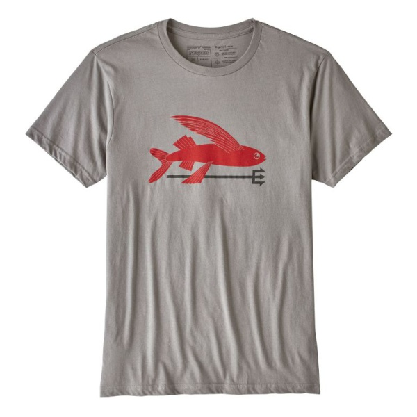 Футболка Patagonia Patagonia Flying Fish Organic T-Shirt