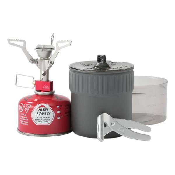 Горелка MSR MSR + посуда MSR Pocketrocket 2 Mini Stove Kit